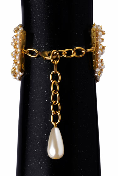 Pearls Beaded Bracelet - (RJB231)-251