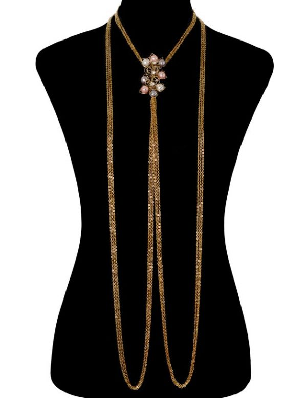Pearly Floral Bodychain (RJMBJ70)-1978