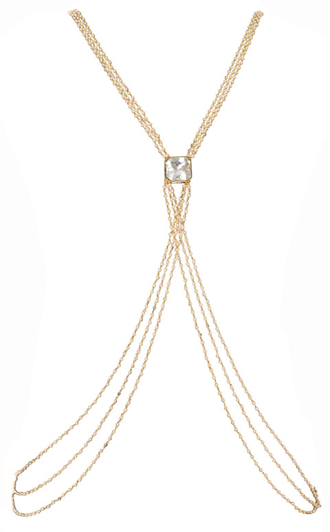 Pearls Beaded Bodychain (RJMBJ71)-151