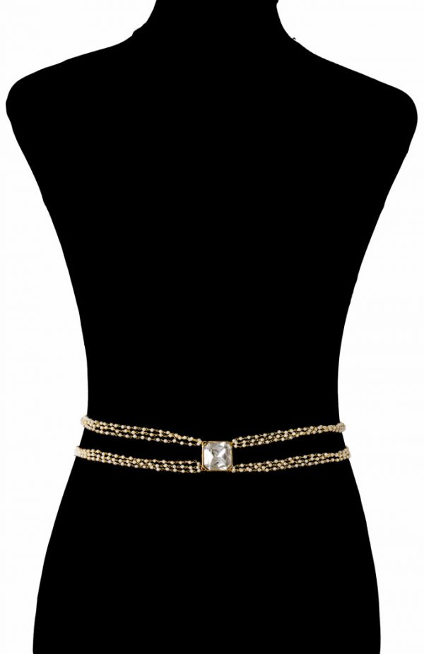 Pearls Beaded Bodychain (RJMBJ71)-148