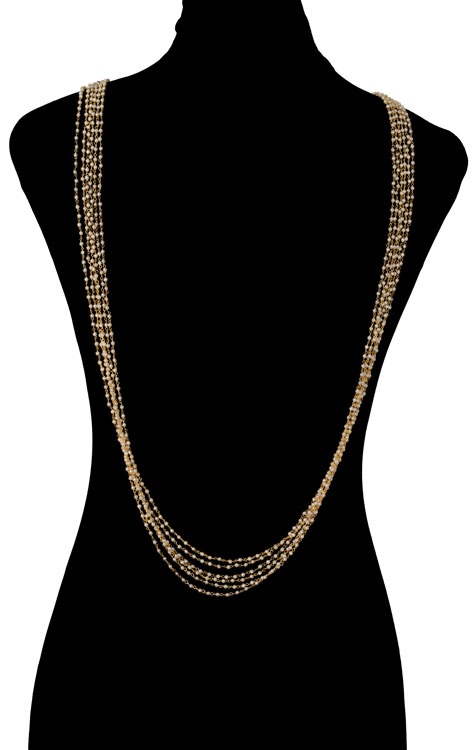 Pearls Beaded Bodychain (RJMBJ71)-152