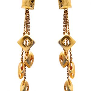 Square Dangling Earrings (RJE352)-0