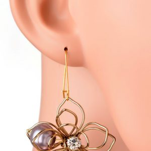 Colourful Floral Earring (RJE530)-0