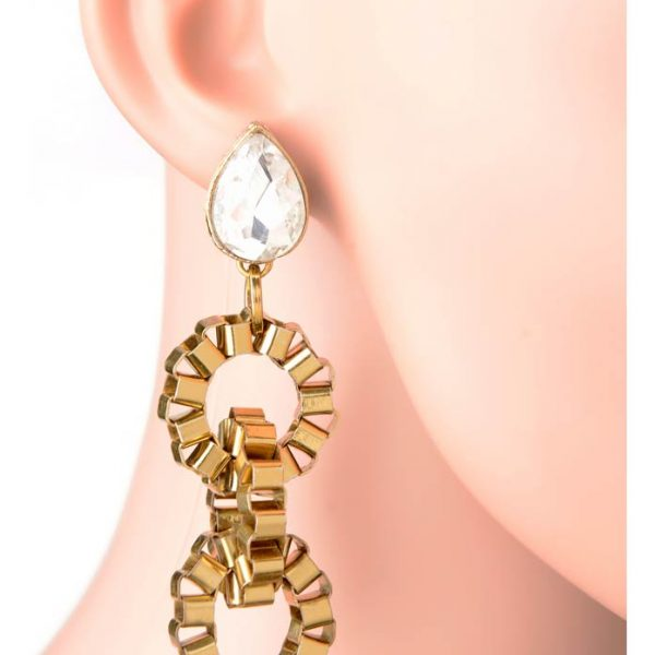 ''Happily Engaged Earring'' (RJE531)-0