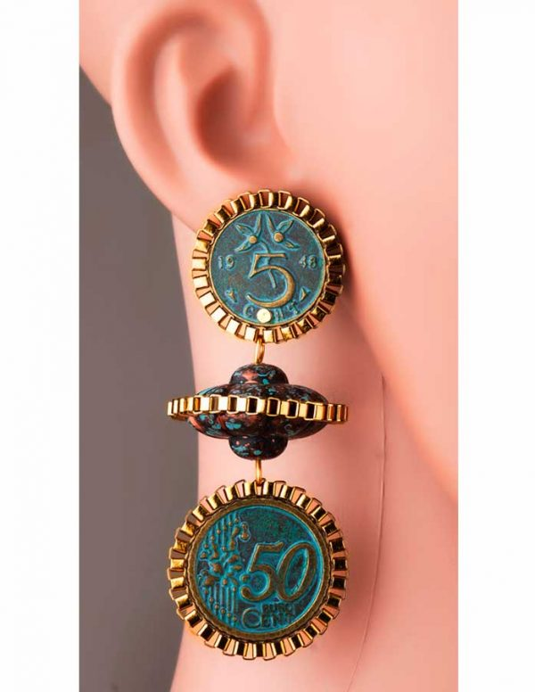 Divide Me Earrings (RJE558)-0