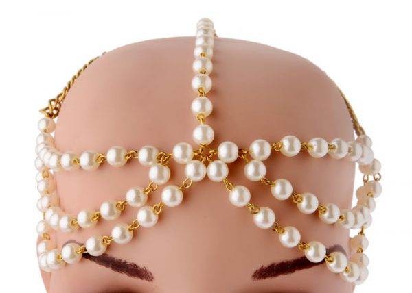Bridal Pearls Headband (RJMM114)-2017