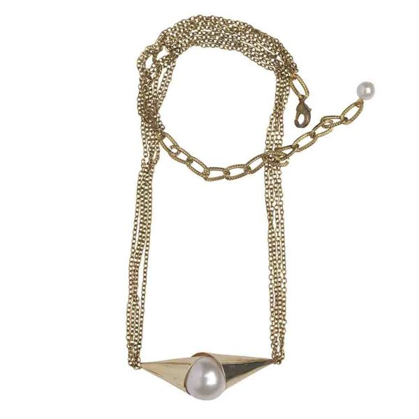 Pearly Cone Anklet   (RJMAL22)-copy